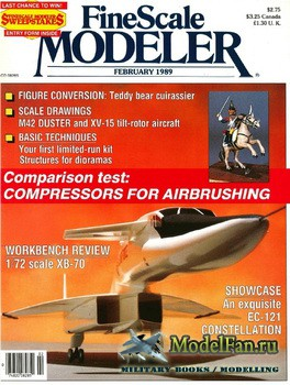 FineScale Modeler Vol.7 №2 (February) 1989