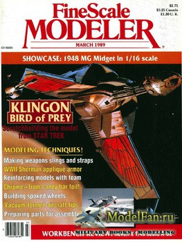 FineScale Modeler Vol.7 №3 (March) 1989