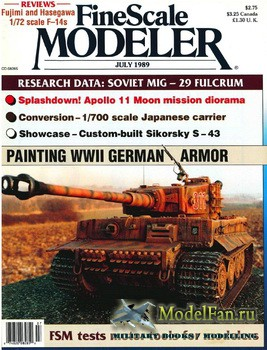 FineScale Modeler Vol.7 №5 (July) 1989