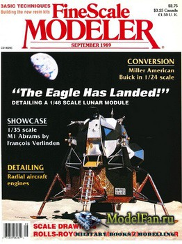 FineScale Modeler Vol.7 №6 (September) 1989
