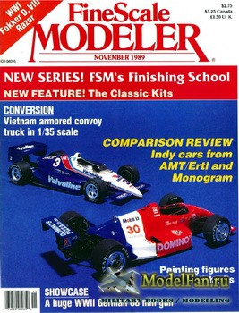 FineScale Modeler Vol.7 №7 (November) 1989
