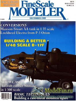 FineScale Modeler Vol.7 №8 (December) 1989