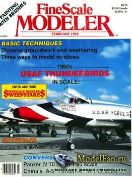 FineScale Modeler Vol.8 №2 (February) 1990