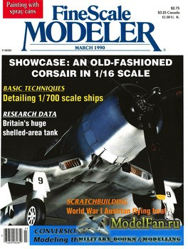 FineScale Modeler Vol.8 №3 (March) 1990