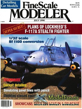 FineScale Modeler Vol.8 №5 (July) 1990
