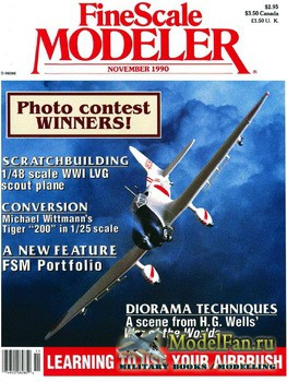 FineScale Modeler Vol.8 №7 (November) 1990
