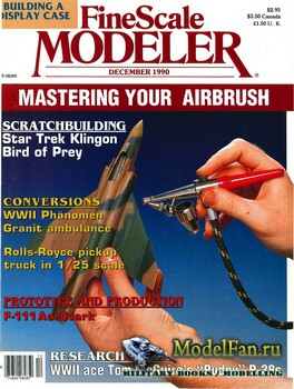 FineScale Modeler Vol.8 №8 (December) 1990