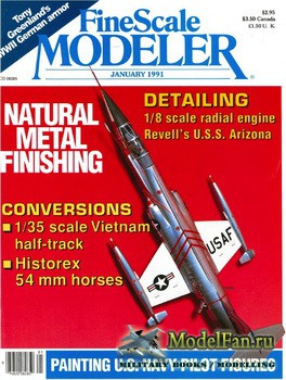 FineScale Modeler Vol.9 №1 (January) 1991