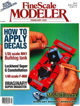 FineScale Modeler Vol.9 №2 (February) 1991