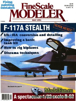 FineScale Modeler Vol.9 №4 (May) 1991