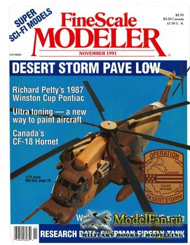 FineScale Modeler Vol.9 №7 (November) 1991