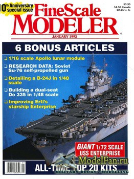 FineScale Modeler Vol.10 №1 (January) 1992