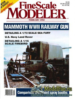 FineScale Modeler Vol.10 №2 (February) 1992