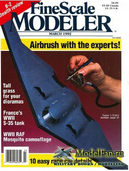 FineScale Modeler Vol.10 №3 (March) 1992