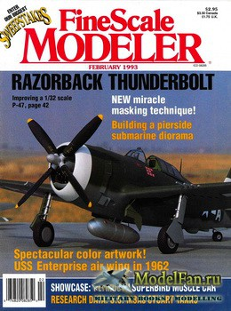 FineScale Modeler Vol.11 №2 (February) 1993