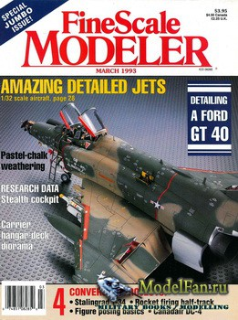 FineScale Modeler Vol.11 №3 (March) 1993