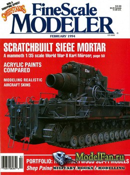 FineScale Modeler Vol.12 №2 (February) 1994