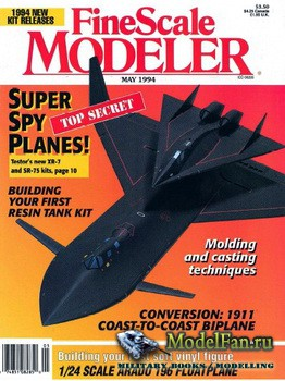 FineScale Modeler Vol.12 №4 (May) 1994