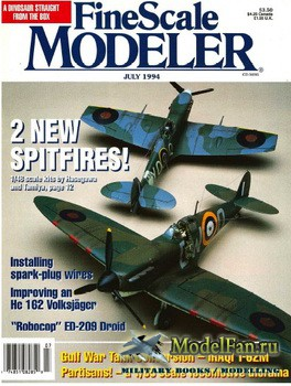 FineScale Modeler Vol.12 №5 (July) 1994