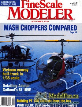 FineScale Modeler Vol.12 №6 (September) 1994