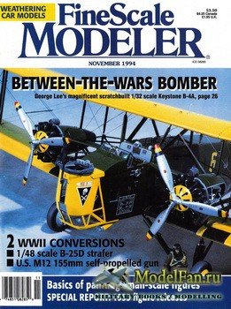 FineScale Modeler Vol.12 №7 (November) 1994