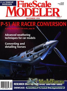 FineScale Modeler Vol.12 №8 (December) 1994