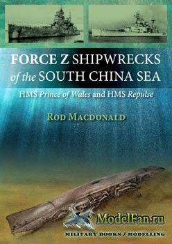 Force Z Shipwrecks of the South China Sea: HMS Prince of Wales and HMS Repulse (Rod Macdonald)