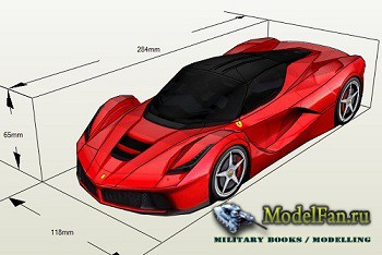 HD Paper - Ferrari LaFerrari