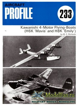 Profile Publications - Aircraft Profile №233 - Kawanishi 4-Motor Flying-Boats (H6K 'Mavis' & H8K 'Emily')