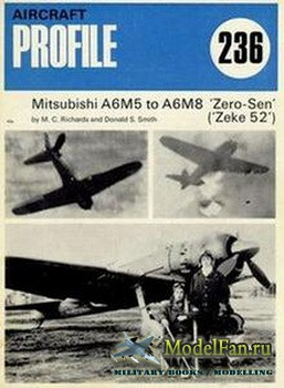 Profile Publications - Aircraft Profile №236 - Mitsubishi A6M5 to A6M8 Zero-Sen ('Zeke 52')