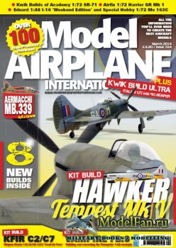 Model Airplane International №104 (March 2014)