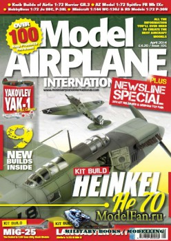 Model Airplane International №105 (April 2014)
