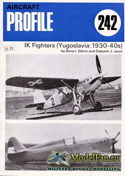 Profile Publications - Aircraft Profile №242 - IK Fighters (Yugoslavia: 1930-40s)