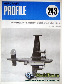 Profile Publications - Aircraft Profile №243 - Avro (Hawker Siddeley) Shackleton Mks. 1 to 4