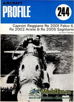 Profile Publications - Aircraft Profile №244 - Caproni Reggiane Re 2001 Falco II