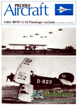 Profile Publications - Aircraft Profile №257 - Udet (BFW) U-12 Flamingo variants