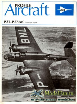 Profile Publications - Aircraft Profile №258 - P.Z.L. P.37 Los