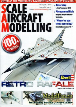 Scale Aircraft Modelling Vol.33 №12 (February 2012)