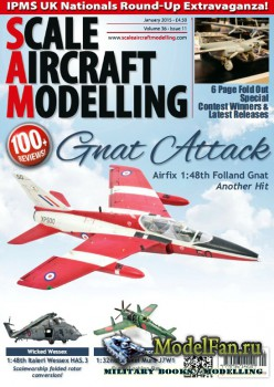 Scale Aircraft Modelling Vol.36 №11 (January 2015)
