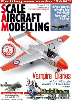 Scale Aircraft Modelling Vol.36 №12 (February 2015)