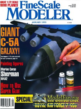 FineScale Modeler Vol.13 №1 (January 1995)