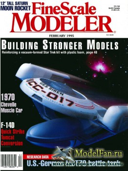 FineScale Modeler Vol.13 №2 (February 1995)