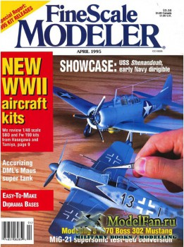 FineScale Modeler Vol.13 №4 (April 1995)