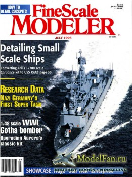 FineScale Modeler Vol.13 №6 (July 1995)