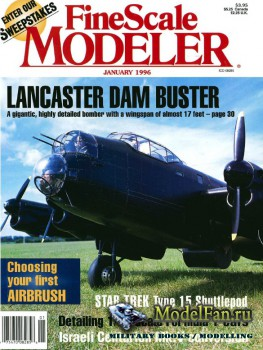FineScale Modeler Vol.14 №1 (January 1996)