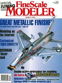 FineScale Modeler Vol.14 №3 (March 1996)