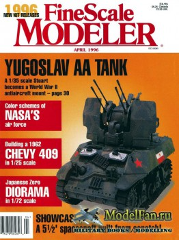 FineScale Modeler Vol.14 №4 (April 1996)