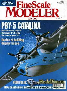 FineScale Modeler Vol.14 №6 (July 1996)