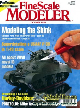 FineScale Modeler Vol.14 №8 (October 1996)