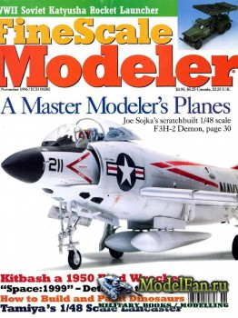 FineScale Modeler Vol.14 №9 (November 1996)